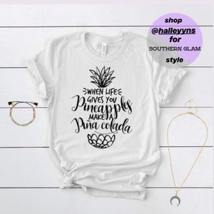 """""""When Life Gives You Pineapples"""" Short-Sleeve Tee"""